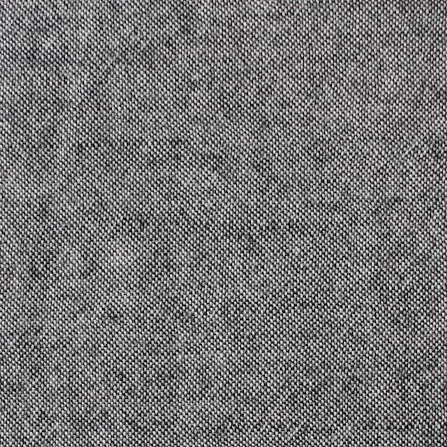 ウール&コットン×無地(チャコールグレー)×起毛シャンブレー_全3色 イメージ1
