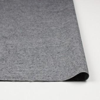 ウール&コットン×無地(チャコールグレー)×起毛シャンブレー_全3色 サムネイル3