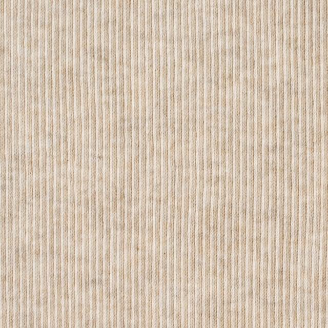 コットン×無地(キナリ)×丸編みリブニット_全3色 イメージ1
