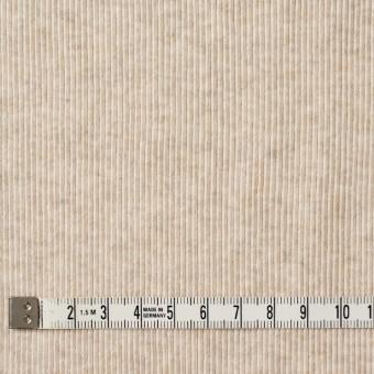 コットン×無地(キナリ)×丸編みリブニット_全3色 サムネイル4