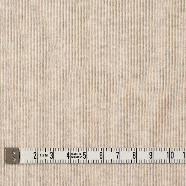コットン×無地(キナリ)×丸編みリブニット_全3色 イメージ4