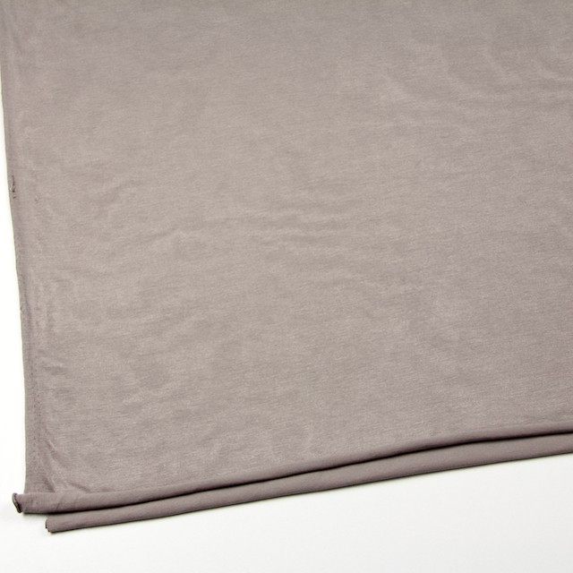 コットン&リヨセル混×無地(ローズグレー)×天竺ニット_全4色 イメージ2