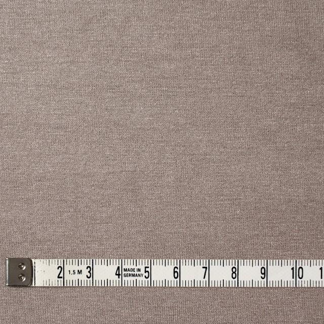 コットン&リヨセル混×無地(ローズグレー)×天竺ニット_全4色 イメージ4