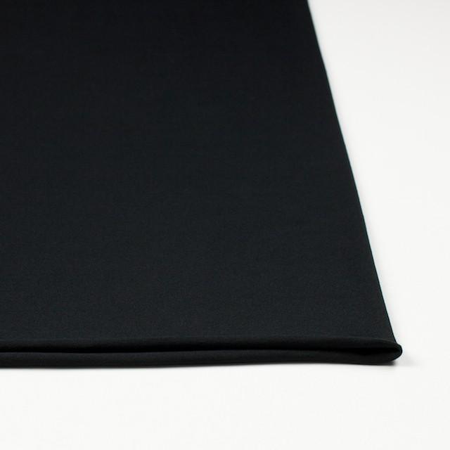 コットン&リヨセル混×無地(ブラック)×天竺ニット_全4色 イメージ3