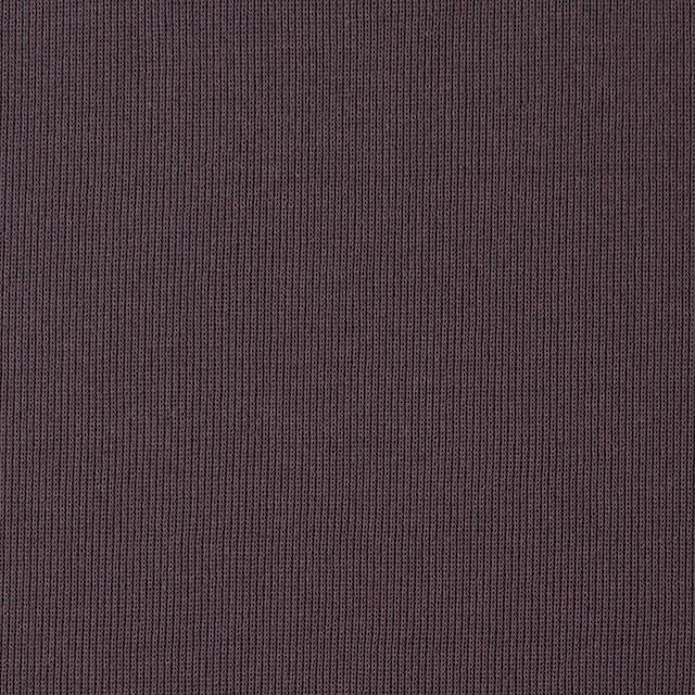 コットン×無地(グレイッシュパープル)×フライスニット_全2色 イメージ1