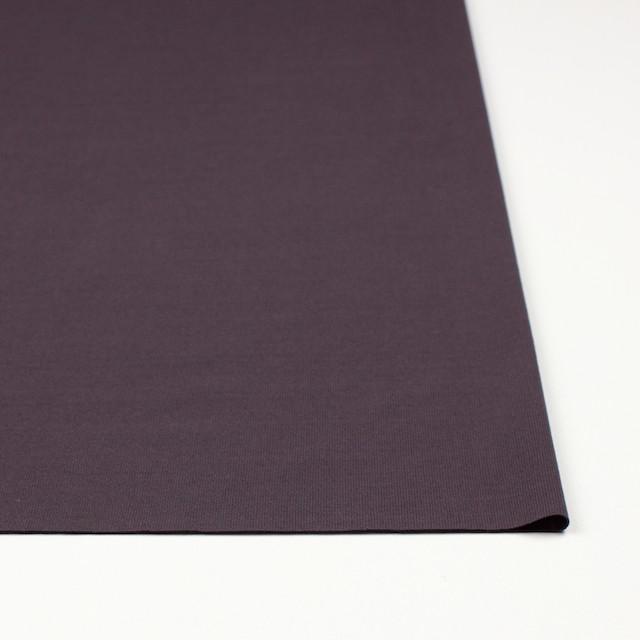 コットン×無地(グレイッシュパープル)×フライスニット_全2色 イメージ3