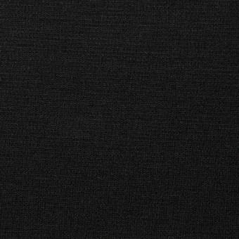 コットン&リヨセル×無地(ブラック)×スムースニット