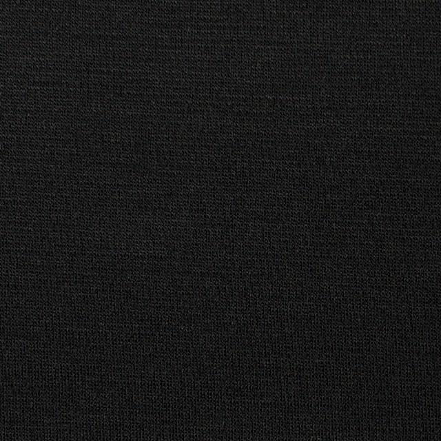コットン&リヨセル×無地(ブラック)×スムースニット イメージ1