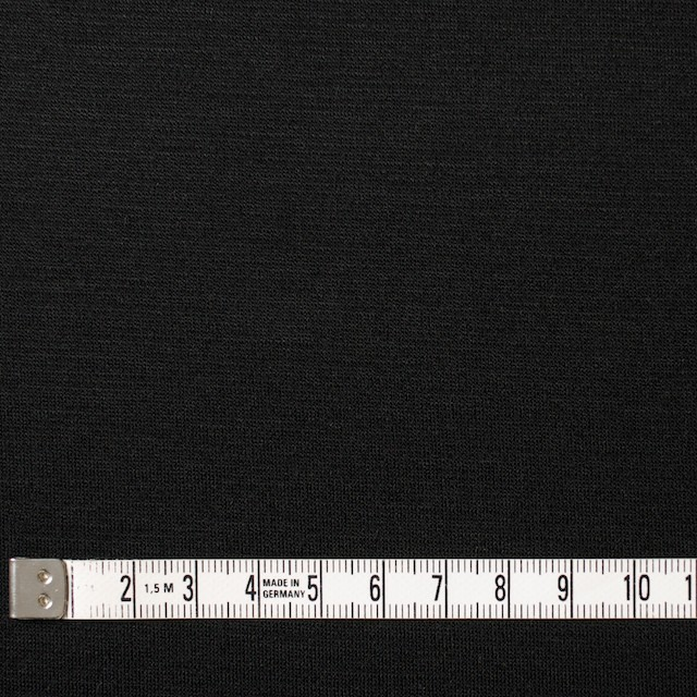 コットン&リヨセル×無地(ブラック)×スムースニット イメージ4