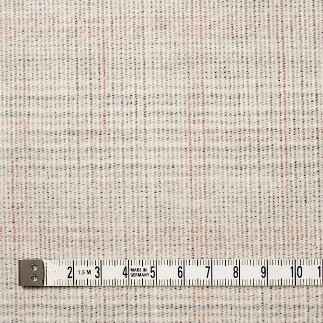 コットン&ポリウレタン×チェック(キナリ)×細コーデュロイ・ストレッチ イメージ4