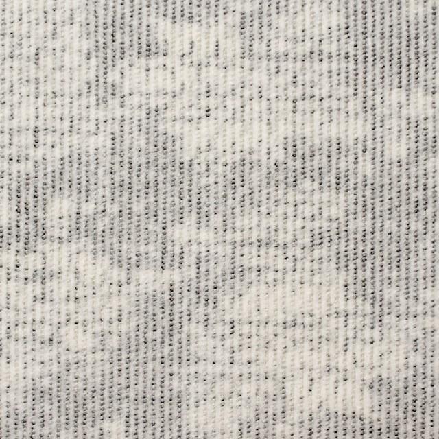 コットン&ポリウレタン×幾何学模様(ライトグレー)×細コーデュロイ・ストレッチ イメージ1