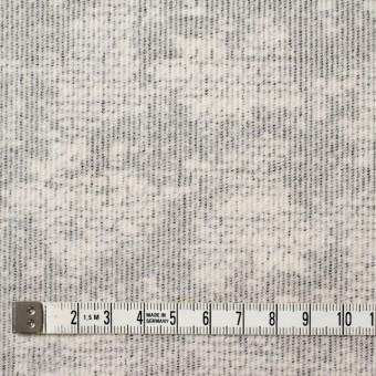 コットン&ポリウレタン×幾何学模様(ライトグレー)×細コーデュロイ・ストレッチ サムネイル4