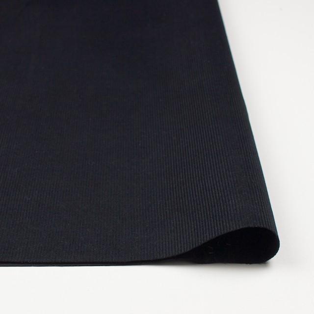 コットン&リネン×無地(ブラック)×細コーデュロイ_全4色 イメージ3
