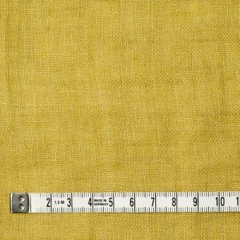 リネン×無地(イエロー)×ガーゼ_全5色_イタリア製 サムネイル4
