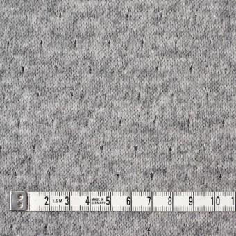 ウール&ナイロン混×無地(グレー)×天竺ニット_全2色 サムネイル4