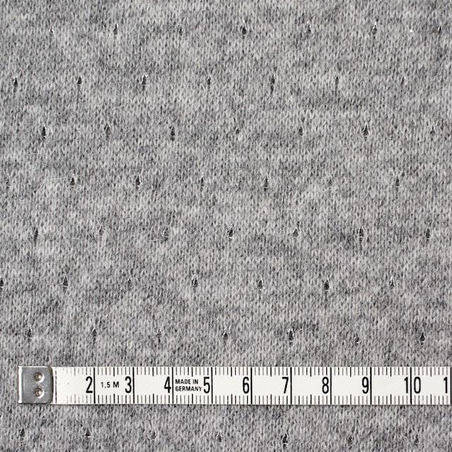 ウール&ナイロン混×無地(グレー)×天竺ニット_全2色 イメージ4