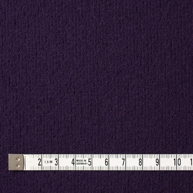 ウール×無地(パープル)×圧縮リブニット_全8色 イメージ4