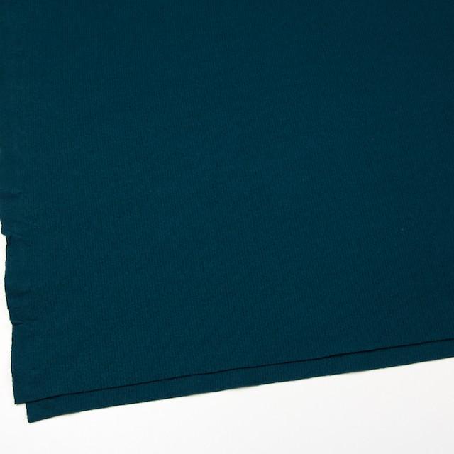 ウール×無地(アカプルコブルー)×圧縮リブニット_全8色 イメージ2