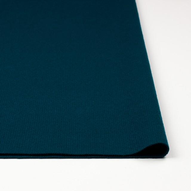 ウール×無地(アカプルコブルー)×圧縮リブニット_全8色 イメージ3