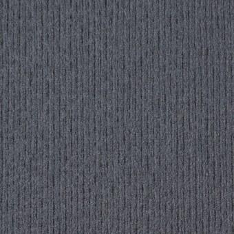 ウール×無地(ストームグレー)×圧縮リブニット_全8色 サムネイル1