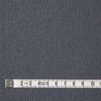 ウール×無地(ストームグレー)×圧縮リブニット_全8色 サムネイル4