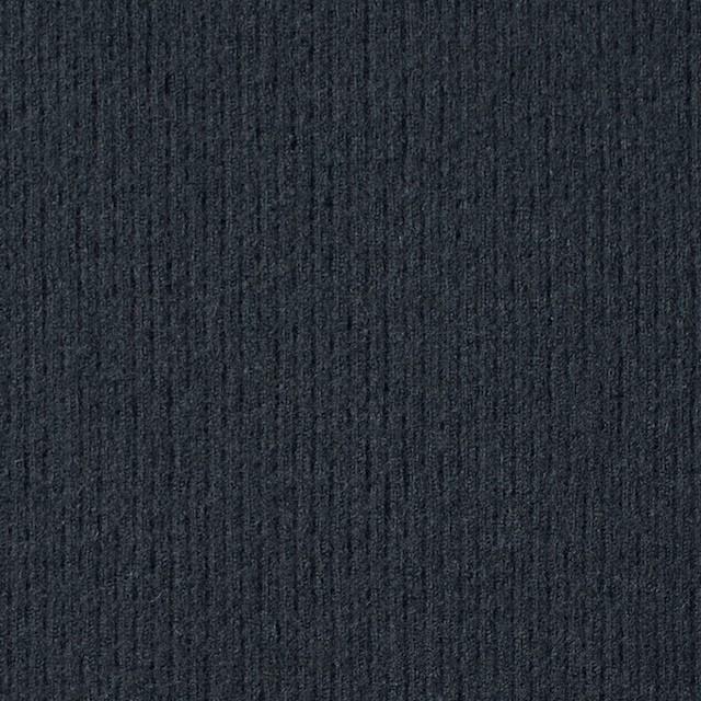 ウール×無地(チャコールグレー)×圧縮リブニット_全8色 イメージ1