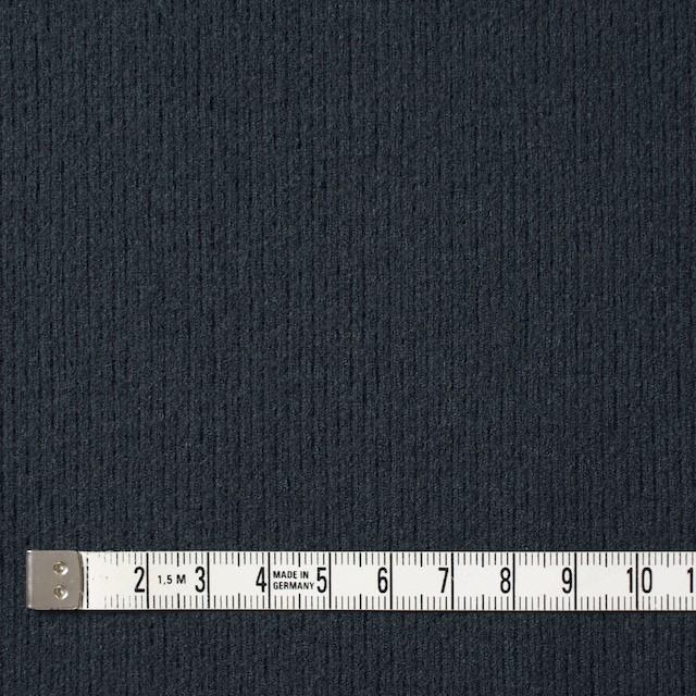 ウール×無地(チャコールグレー)×圧縮リブニット_全8色 イメージ4