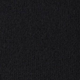 ウール×無地(ブラック)×圧縮リブニット_全8色 サムネイル1