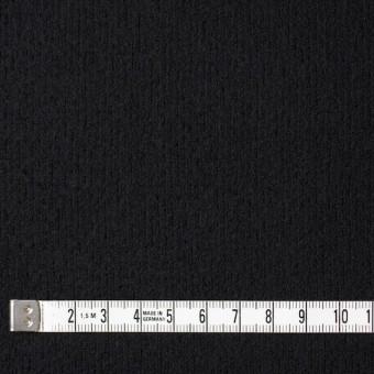 ウール×無地(ブラック)×圧縮リブニット_全8色 サムネイル4