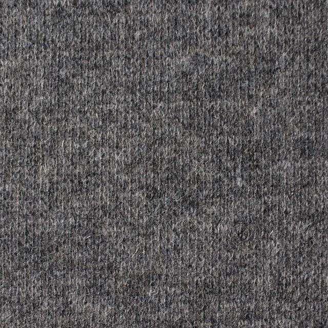ウール&ナイロン混×無地(グレー&キナリ)×Wニット イメージ1