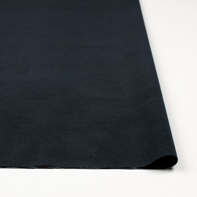 コットン&ポリエステル×無地(チャコールブラック)×ベッチン(シリーズ2)_全2色 イメージ3