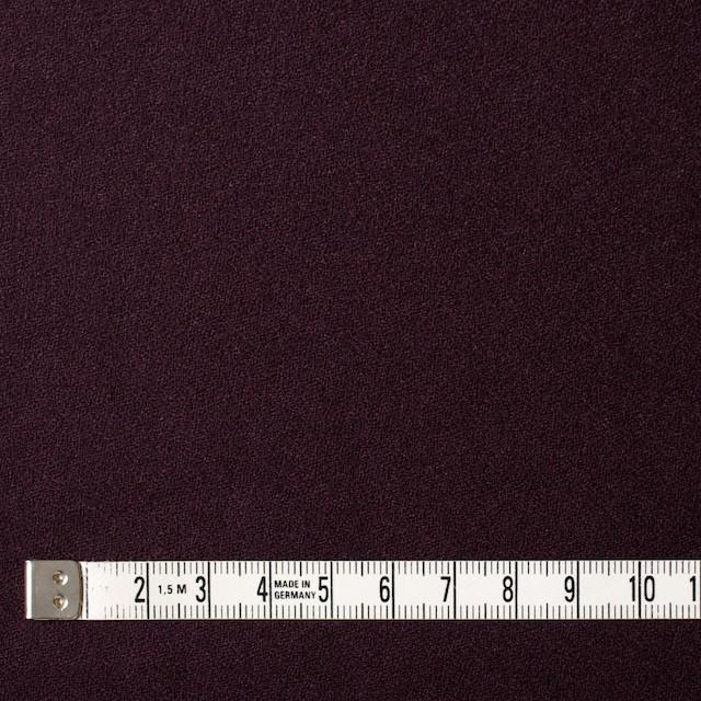 ウール×無地(パープル)×ジョーゼット イメージ4