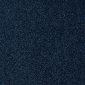 ウール×無地(ミッドナイトブルー)×フラノ(フランネル) サムネイル1