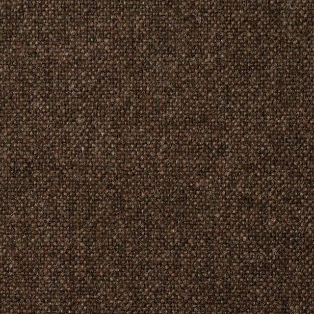 ウール×無地(ブラウン)×ツイード_全2色_スコットランド製 イメージ1