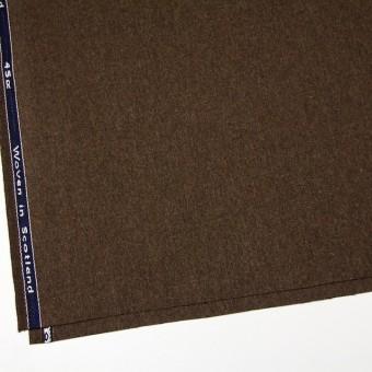 ウール×無地(ブラウン)×ツイード_全2色_スコットランド製 サムネイル2
