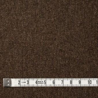 ウール×無地(ブラウン)×ツイード_全2色_スコットランド製 サムネイル4