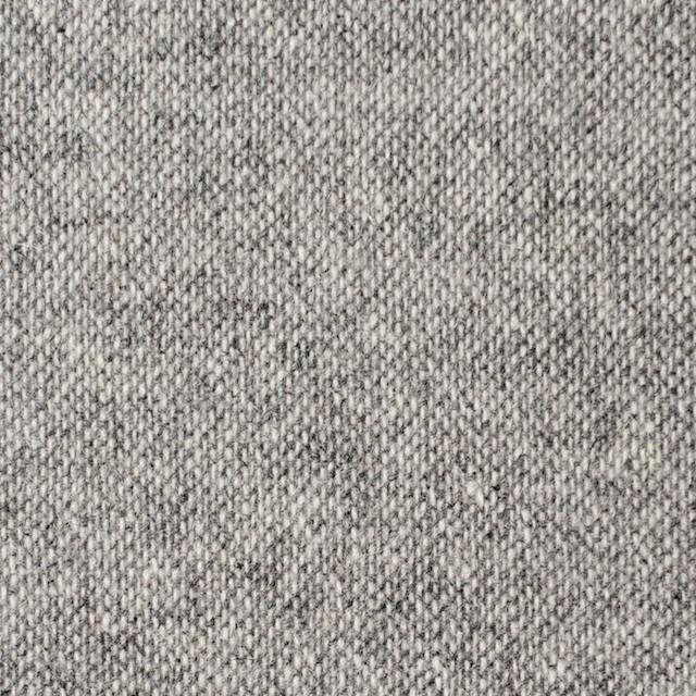 ウール&ポリエステル×無地(ライトグレー)×ツイード イメージ1