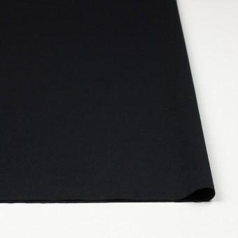 ウール&ポリウレタン×無地(ブラック)×サージストレッチ サムネイル3