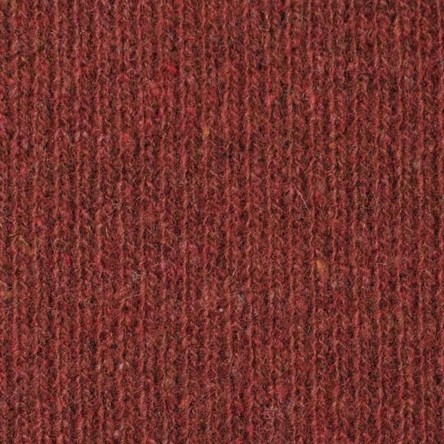 ウール&ナイロン×無地(レンガ)×リブニット イメージ1