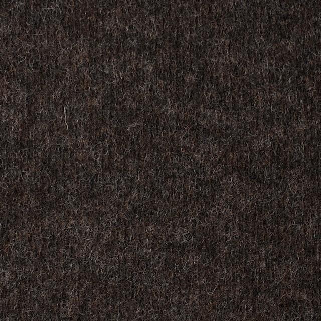 ウール&ナイロン×無地(アッシュブラウン)×圧縮ニット イメージ1