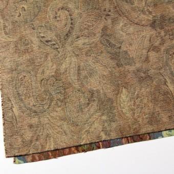 ポリエステル&コットン混×幾何学模様(ベージュミックス)×ゴブラン織_イタリア製 サムネイル2