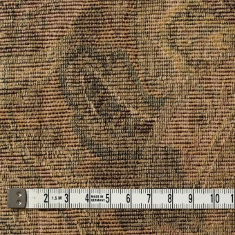 ポリエステル&コットン混×幾何学模様(ベージュミックス)×ゴブラン織_イタリア製 サムネイル4