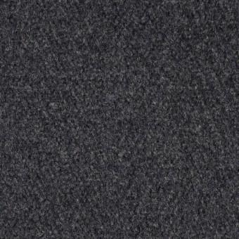 ウール×無地(チャコールグレー)×メルトン サムネイル1