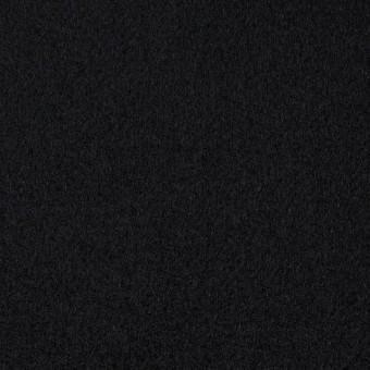 ウール×無地(ブラック)×メルトン サムネイル1