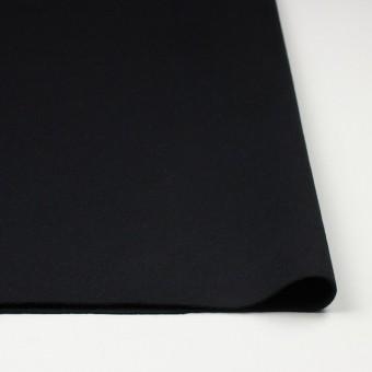 ウール×無地(ブラック)×メルトン サムネイル3