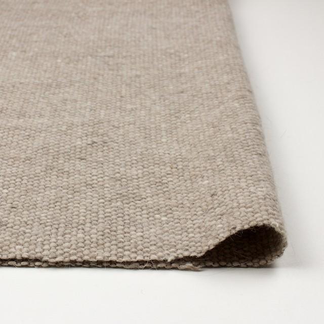 ウール&アンゴラ混×無地(ベージュミックス)×かわり織 イメージ3