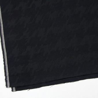 ウール×幾何学模様(ブラック)×風通織ジャガード サムネイル2