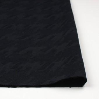 ウール×幾何学模様(ブラック)×風通織ジャガード サムネイル3