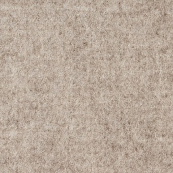 ウール×無地(オートミール&アイボリー)×Wフェイスビーバー_全3色 サムネイル1