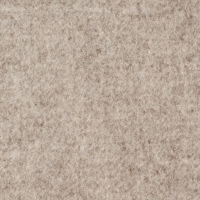 ウール×無地(オートミール&アイボリー)×Wフェイスビーバー_全3色 イメージ1